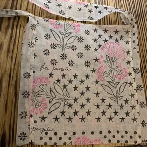 Free People Linen bag